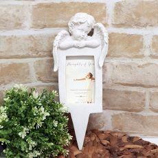 Cherub Angel Resin Garden Statue