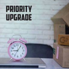 JUMP THE QUE PRIORITY PRODUCTION UPGRADE