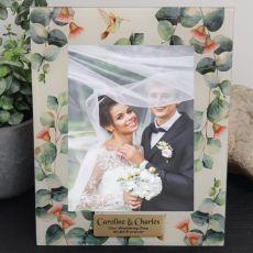 Personalised Wedding Frame 5x7 Photo Glass Gumtree