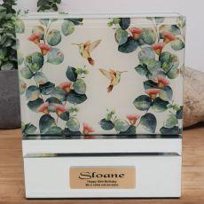 50th Birthday Personalised Mirror Jewellery Box - Gumtree