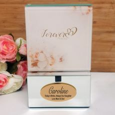 Forever Always Bride Mirrored Trinket Box