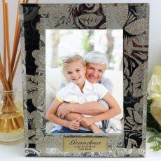 Personalised Grandma 5x7 Photo Frame Golden Glitz
