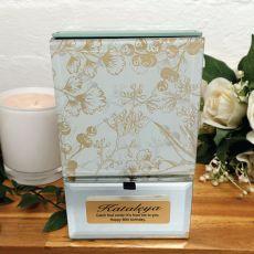 80th Birthday Personalised Trinket Box Tenderly