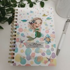 Mum Journal & Pen - Mermaid