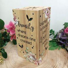 Family LED Light Box 20cm