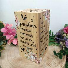 Grandma LED Light Box 20cm