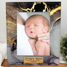 Baby Personalised Photo Frame 5x7 Treasured Cove