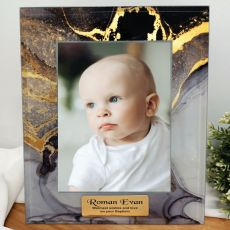 Baptism Personalised Photo Frame 5x7 Treasured Cove