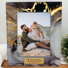 Dad Personalised Photo Frame 5x7 Treasured Cove