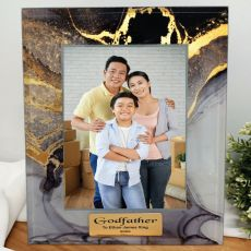 Godfather Personalised Photo Frame 5x7 Treasured Cove