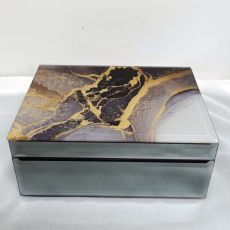 Glass Jewellery Box Treasured Cove