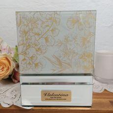 Personalised 80th Birthday keepsake Box Tenderly