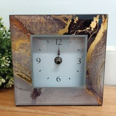 Glass Desk Clock - Treasure Trove