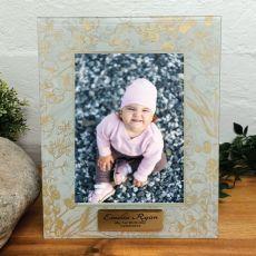 1st Birthday Photo Frame 5x7 Tenderly