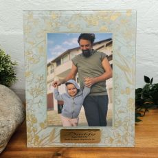 Personalised Dad Photo Frame 5x7 Tenderly