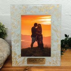 Personalised Engagement Photo Frame 5x7 Tenderly