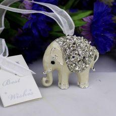 Bridal Bouquet Wedding Charm Elephant