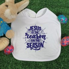 Jesus Is The Season Easter Bib