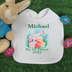 Personalised Easter Bib - Boo Bunny