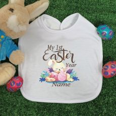 My 1st Easter Personalised Bib - Sleepy Bunny