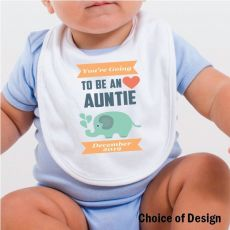 You're going to be a Aunty Baby Bib
