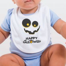 Happy Halloween Baby Bib