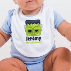 Personalised Halloween Baby Bib - Monster