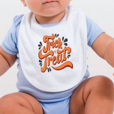 Trick or Treat Halloween Baby Bib
