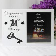 21st Birthday LED Wish Box Guest Book