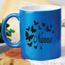 Nana Personalised Blue Coffee Mug