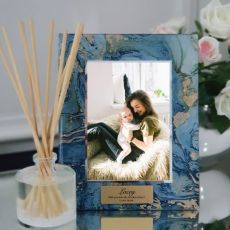 Godmother Personalised Frame 5x7 Photo Glass Fortune Of Blue