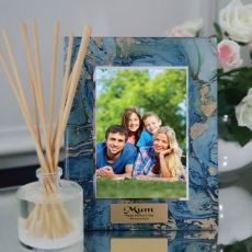 Mum Personalised Frame 5x7 Photo Glass Fortune Of Blue
