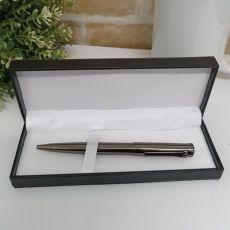 Gunmetal Twist Pen in Box