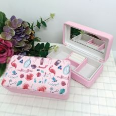 Pink Travel Jewel Box