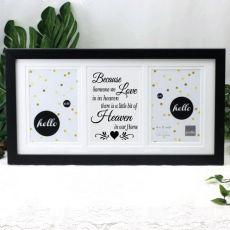Memorial Black Gallery Frame - Heaven