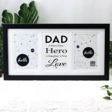 Dad Black Gallery Frame - First Love