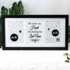 Engagement Black Gallery Frame