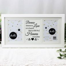 Memorial White Gallery Frame - Heaven