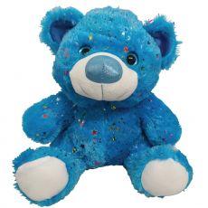Hollywood Bear 40cm Blue Plush
