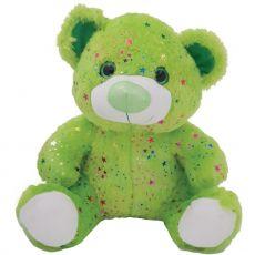 Hollywood Bear Green Plush