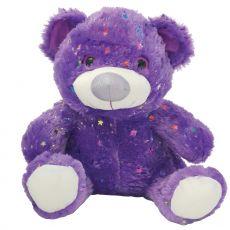 Hollywood Bear 40cm Purple Plush
