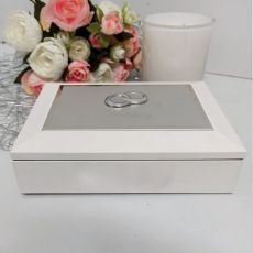 White Wedding Jewel Box