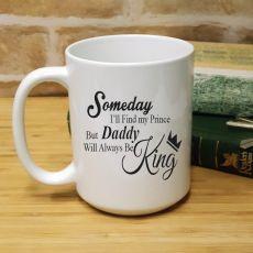 Dad The King 15oz Personalised Coffee Mug