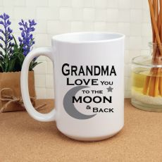 Grandma Personalised Coffee Mug 15oz  - Moon & Back
