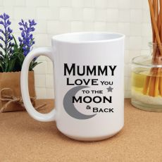 Mum Personalised Coffee Mug 15oz  - Moon & Back