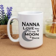Nana Personalised Coffee Mug 15oz  - Moon & Back
