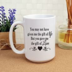 StepParent Gift of Love 15oz Personalised Coffee Mug