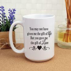 StepParent Gift of Love 15oz Personalised Coffee Mug