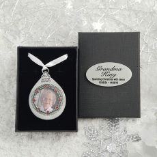 In Loving Memory Pewter Christmas Ornament