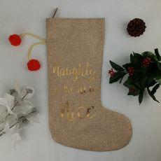 Set of 6 Naughty - Nice Stockings